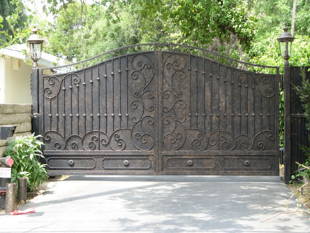 Los Angeles Steel Driveway Gates And Wrought Iron