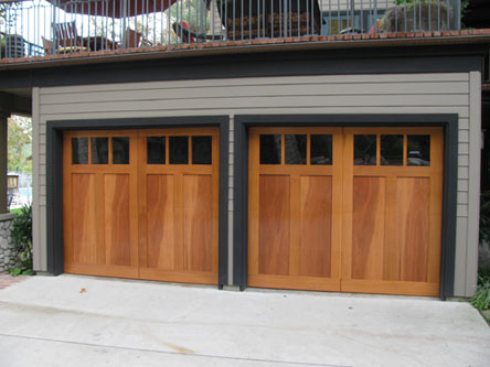 Los Angeles Wood Garage Doors Sectional Garage Doors